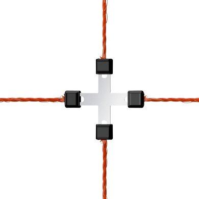 Ako Connecteur Inter-Fil Litzclip Galvanisé 5pc