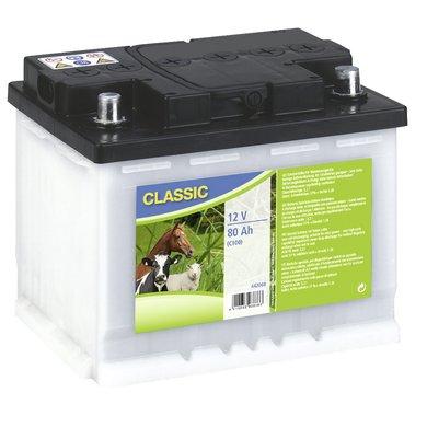 Ako Batterie de Clôture 12V Blanc