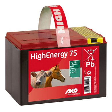 Ako High Energy Droge Batterij 9V 75Ah