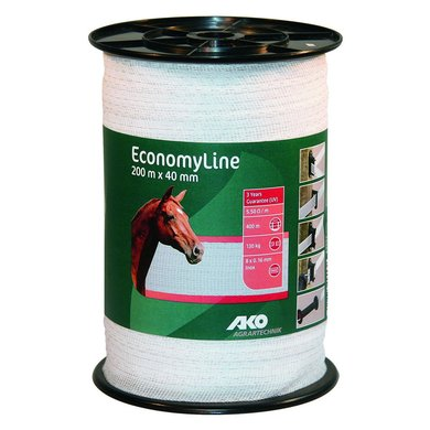 Agradi Power Lint Economyline Wit 200m 40mm