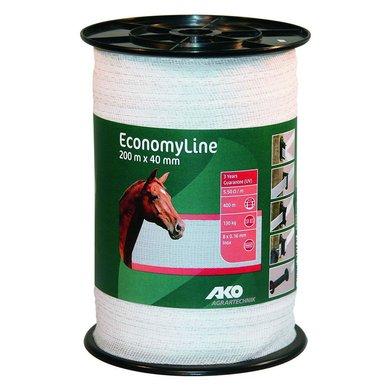 Ako Band EconomyLine, 200m Weiß 40mm
