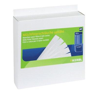 Kerbl Milchfilterschlauch 100 Stk., genäht 450x75mm