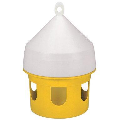 Kerbl Futterhaus für Tauben, Gelb 5L
