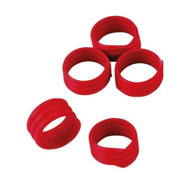 Kerbl Spiralring, Kunststoff Rot 16mm 20st