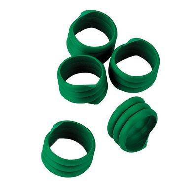 Kerbl Spiralring, Kunststoff Grün 16mm 20st