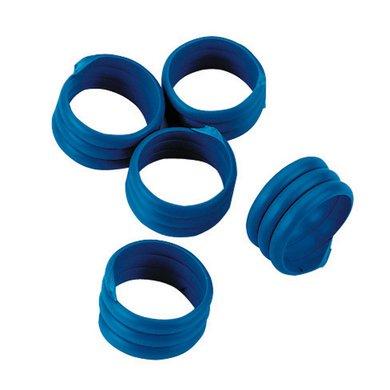 Kerbl Spiralring, Kunststoff Blau 16mm 20st