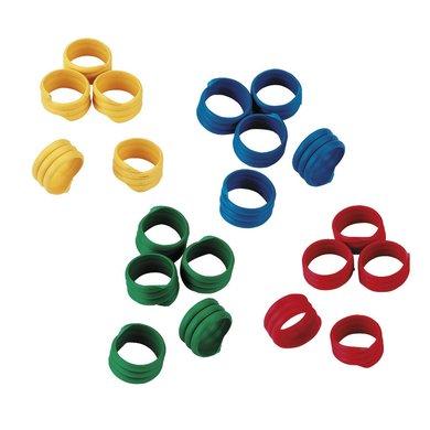 Kerbl Spiralring Kunststoff 100 Stück Assorti