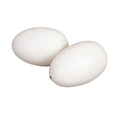 Kerbl Nesteier aus Ton für Hühner 2 Stück
