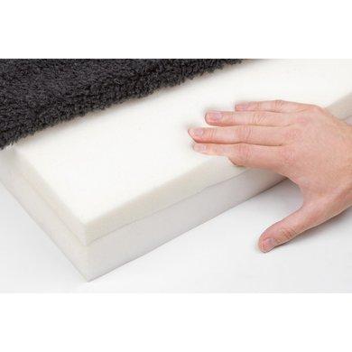kerbl memory foam matratze grau. Black Bedroom Furniture Sets. Home Design Ideas