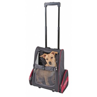 Kerbl Trolley Vacation Noir/Rouge 42x25x55/80-130 cm