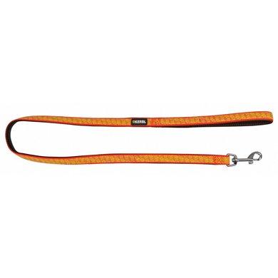 Kerbl Riem Reflecterend Zwart/Oranje 15mmx100cm
