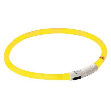 Maxi Safe Oplaadbare LED-Halsband, geel, 55cm