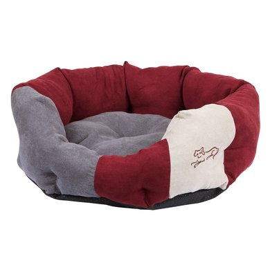 Kerbl Knuffelbed Amelie Bordeaux/Antraciet