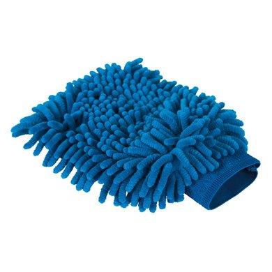Kerbl Putzhandschuh Microfaser Blau 20x15cm