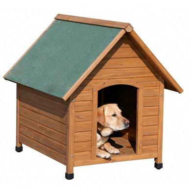 Kerbl Hundehütte Holz 100x88x99cm