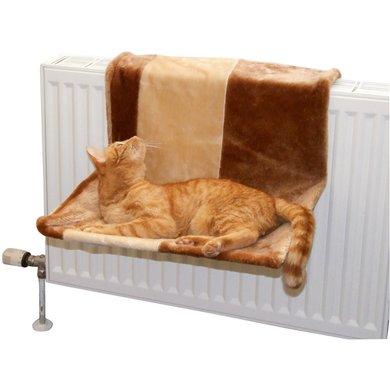 Kerbl Kattenhangmat Paraduis Groot Bruin/Beige