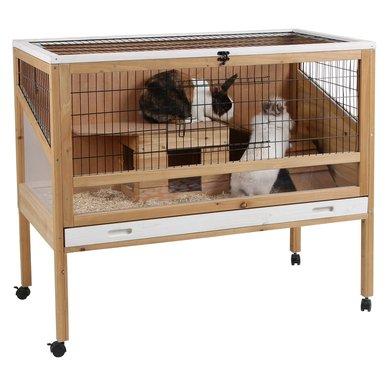 Kerbl Cage pour Animaux Delux Petit Intérieur 115x60x92cm