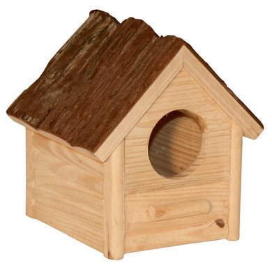 Kerbl Hamsterhaus Holz 14x12x13cm