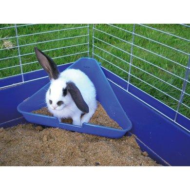 Kerbl konijnentoilet hoek - Welke kleur in het toilet ...
