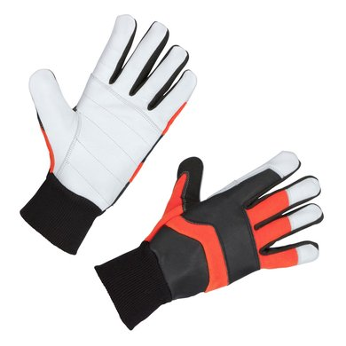 Kerbl Kettingzaag Handschoen Forester Oranje/Zwart/Wit 9/L