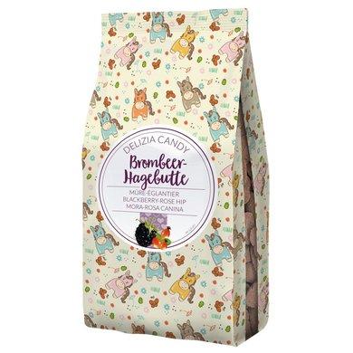 Kerbl Candy Delizia Braambes/Rozenbottel Hartvorm 600g