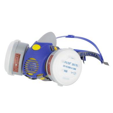 Kerbl Adem Bescherming Masker Etna incl. 2 Filters A1P2