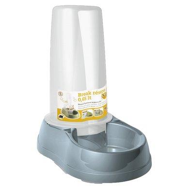Kerbl Wasserund Futterautomat Stahlblau