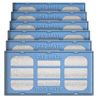 Cat Mate Reserve Filter Drinkfontijn 6 Stuks