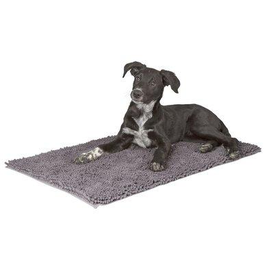Kerbl Vuil Vangende Hondenmat Grijs 80x50cm
