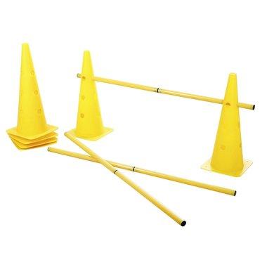 Kerbl Agility Pyloon Set 3 Opstakels Rood/Geel