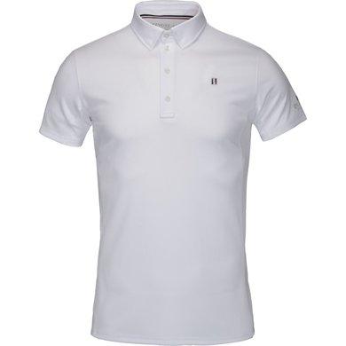 Kingsland Wedstrijdshirt Classic Korte Mouw Heren Wit XL