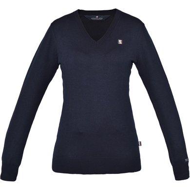Kingsland Sweater Classic Dames V-Hals Navy L