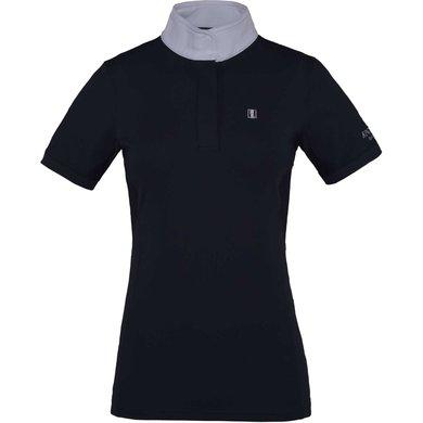 Kingsland Wedstrijdshirt Classic Korte Mouw Dames Navy XS