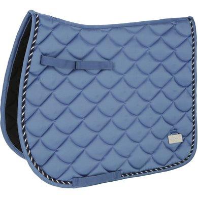 Covalliero Tapis de Selle VS Bleu indigo Poney
