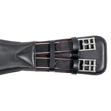 Kavalkade Leren Singel SOFT elastiek Zwart