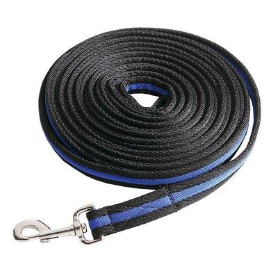 Kavalkade Longeerlijn BlackDuo Ecoline zwart/koningsblauw