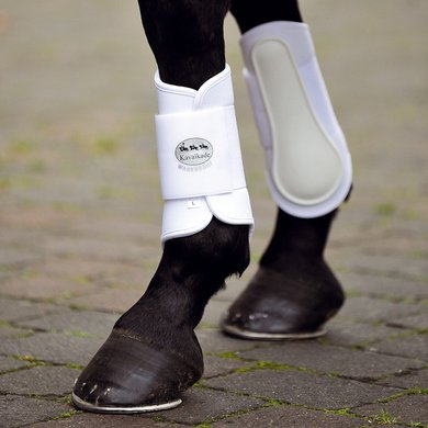 Kavalkade Protèges-Tendons Softy Jambes arrière Blanc S