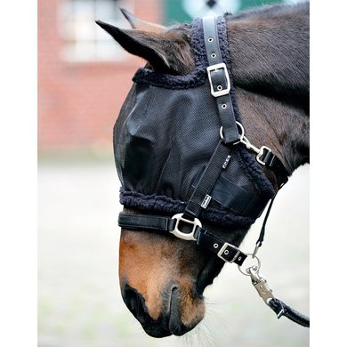Kavalkade Fly Mask without Ears Black