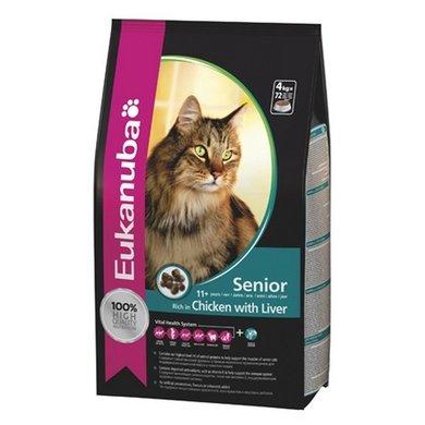 Eukanuba Regular Cat Senior & Mature 4x2kg
