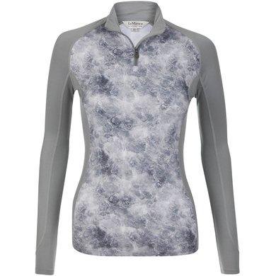 LeMieux Shirt Glace Basis Grijs XXS