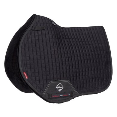 LeMieux Jumping Saddle Cloth Sensitive Square Black L (Full)