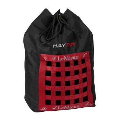 LeMieux Hay Bag Black/Red