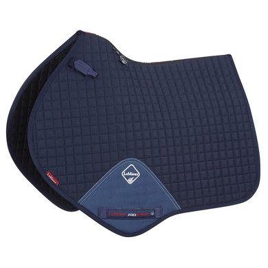 LeMieux Jumping Saddle Cloth ProSport Plain CC Square Navy