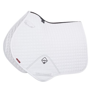 LeMieux Jumping Saddle Cloth ProSport Plain CC Sq White L