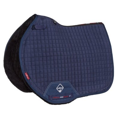 LeMieux Jumping Saddle Cloth Sensitive Square Navy L (Full)