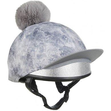 LeMieux Hat Silks Glace Grijs