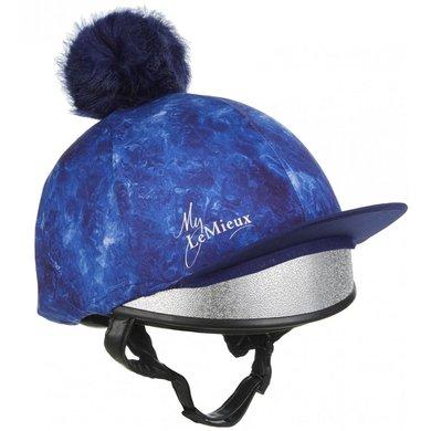 LeMieux Hat Silks Glace Navy