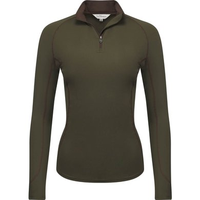 LeMieux Shirt Base Layer Oak Green S