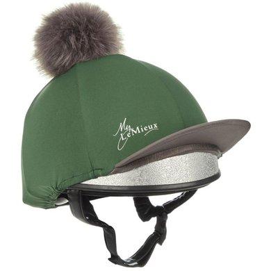 LeMieux Hat Silks Hunter Groen/Grijs