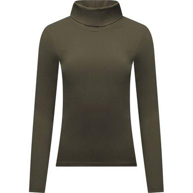 LeMieux Shirt Liberte Base Layer mit Rollkragen Oak Green 42